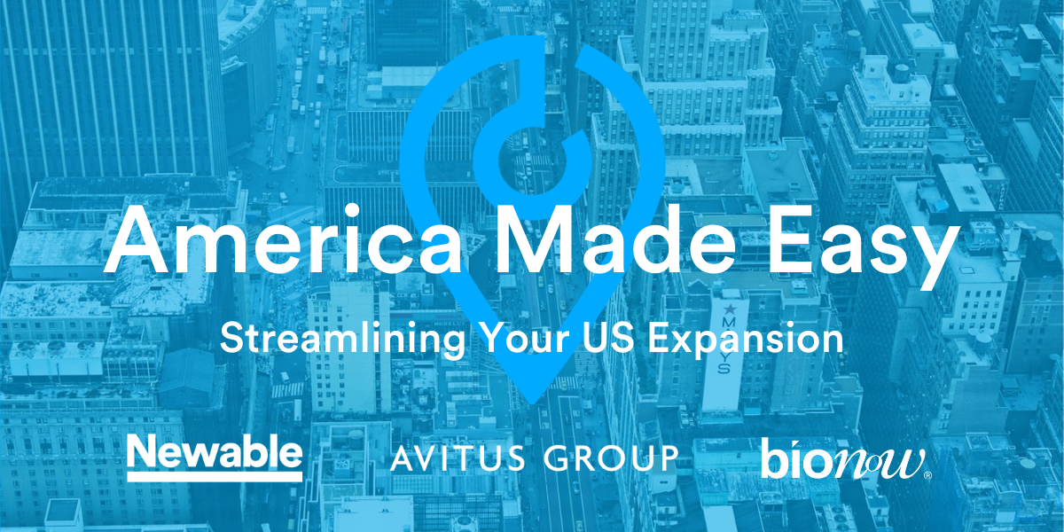 America Made Easy - Streamlining Your US Expansion (Bionow)