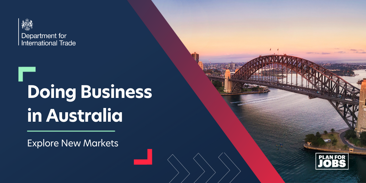 Explore New Markets:  Doing Business in Australia
