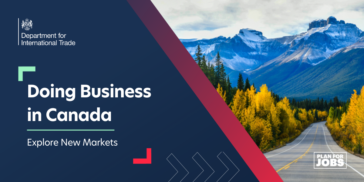 Explore New Markets: Doing Business in Canada