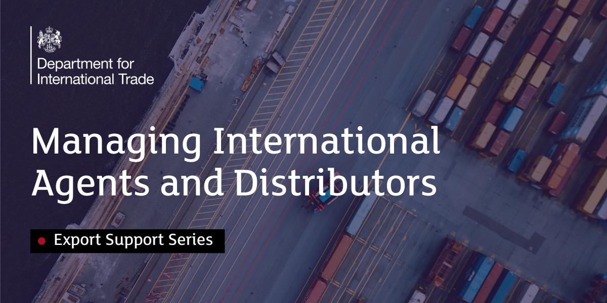 Managing International Agents & Distributors