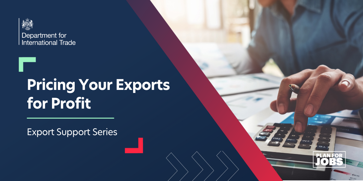 Pricing Your Exports for Profit