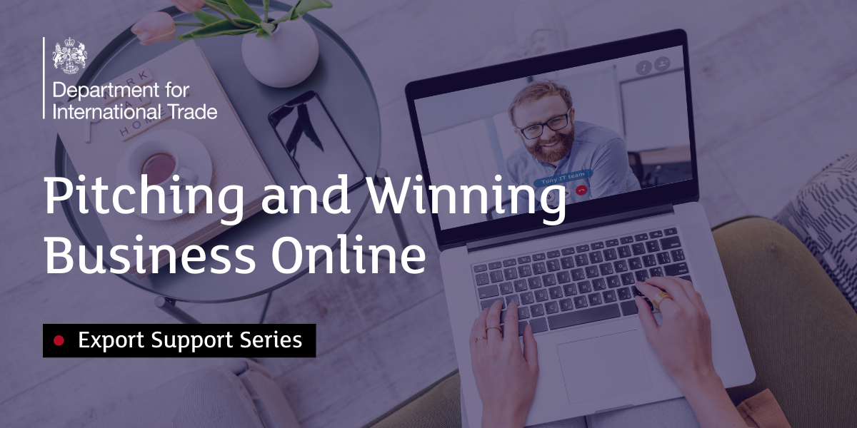 Pitching and Winning Business Online