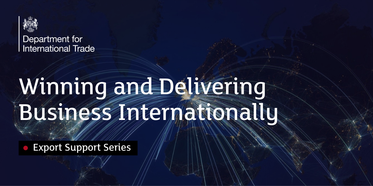 Winning and Delivering Business Internationally