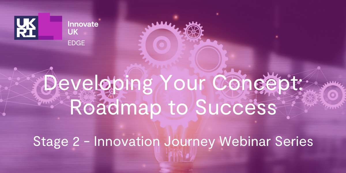 Stage 2 - Developing Your Concept: Roadmap to Success