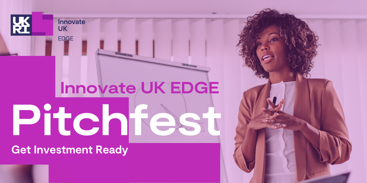 Innovate UK EDGE Pitchfest - Wales