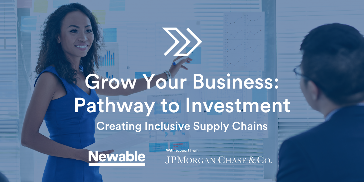 Grow Your Business: Pathway to Investment