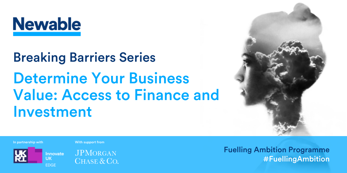 Determine Your Business Value: Access to Finance and Investment