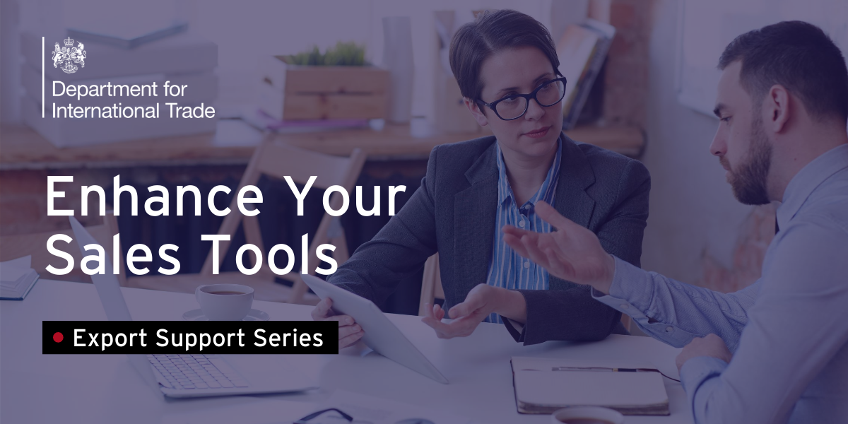 Enhance Your Sales Tools